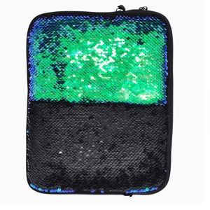 Sparkle Sequin Tablet Case Swipe Two Tone